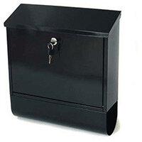 Post Box Tees Black Steel HxWxD(mm): 410x365x110