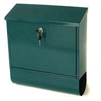 Post Box Tees Green Steel HxWxD(mm): 410x365x110