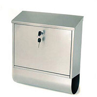 Post Box Tees Stainless Steel HxWxD(mm): 410x365x110