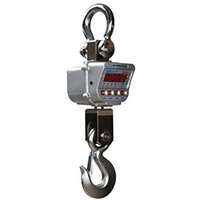 Heavy Duty Crane Scale 10000Kg With Remote Control
