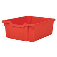 Red Deep Tray