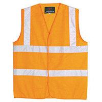 Orange Class 2 Hi-Viz Two Band Waistcoat Med