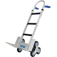 Aluminium Stairclimbing Handtruck - Capacity - 300kg on flat ground, 180kg on stairs
