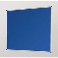 Aluminium Framed Noticeboards 450X600 Blue Board