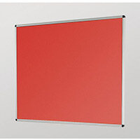 Aluminium Framed Noticeboards 450X600 Red Board