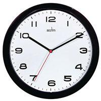 Aylesbury Black Wall Clock