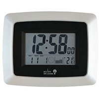 Avanti Lcd Radio Controlled Wall Clock