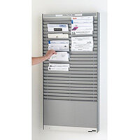 Klarity Document Panel Silver 12xA4 Landscape Pockets