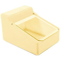 Table Top Storage And Dispense Container With Clear Flap Yellow