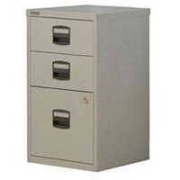Bisley Pfa Home Filer 1xFiling 2xStationery Drawers Grey