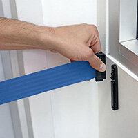 Wall Clip Additional For Advance Barrier Systems