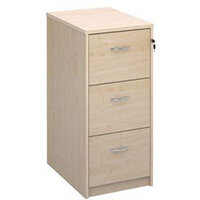 Filing Cabinet 3 Drawer Maple Classic Furniture