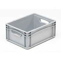 Basicline 400X300X170mm Solid Sides And Base With Hand Holes
