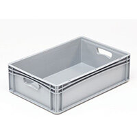 Basicline 600X400X170mm Solid Sides And Base With Hand Holes