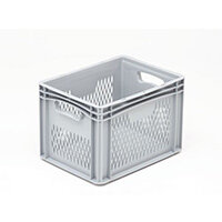 Basicline 400X300X270mm Ventilated Sides And Base With Hand Holes