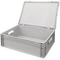 Basicline Case 600X400X185mm With Hand Holes