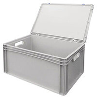 Basicline Case 600X400X285mm With Hand Holes