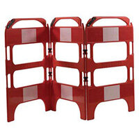 3 Gate Workgate Red Manhole Barrier Sets