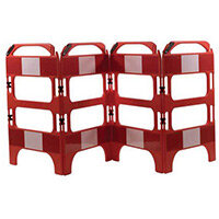 4 Gate Workgate Red Manhole Barrier Sets