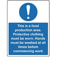 Sign This Is A Food Product 150x200 Vinyl