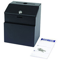Steel Suggestion Box Black (Bl)