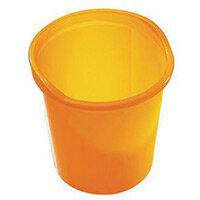 13 Litre Plastic Wastebasket In Yellow