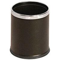 10 Litre Metal Waste Paper Bin Matt Blackfinish