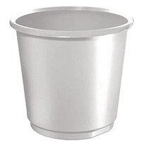 18 Litre Grey Plastic Wastebaskets X 4