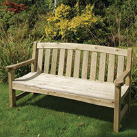 Sidmouth 3 Seater Pressure Treated Bench