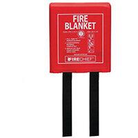 1.2Mx1.2M Fire Blanket Rigid Case Firechief