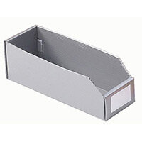 K-Bin Polyprop Pack Of 50 Hxwxl 100x150x200mm S/Grey