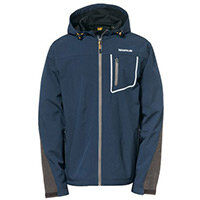 Capstone Hooded Soft Shell Jacket Medium Marine
