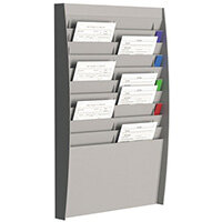 Fast Paper Document Control Panel 2X10 Compartments A4 Grey
