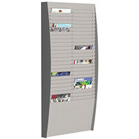Fast Paper Document Control Panel 2X25 Compartments A4 Grey