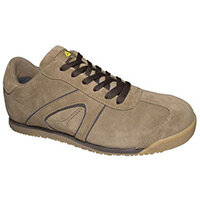 D Spirit Lightweight Nubuck Safety Trainer Beige Uk Size 5 Eu Size 38