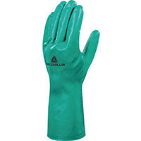 Nitrile Flock Lined Chemical Glove 33Cm Size 8