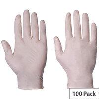 Latex Powder Free Gloves Large