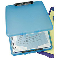 Blue Slim Case Clipboard