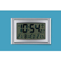 Lcd Digital Clock With Calendar And Thermometer