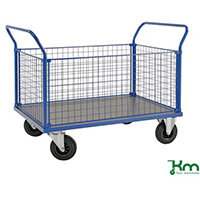 Platform Truck LxW 1166x700mm With Two Mesh Ends And 2 Mesh Sides