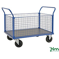 Platform Truck LxW 1366x800mm With Two Mesh Ends And 2 Mesh Sides