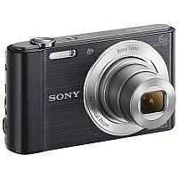 Sony DSC-W810 Digital Camera Black 20.1 MP 6x Zoom