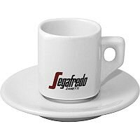 Segafredo Espresso Cup 70ml & Saucer Pack of 4