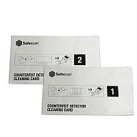 Safescan Cleaning Cards for Banknote Counters 136-0546 Set of 10x2 Cards