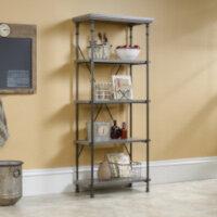 Canal Heights 4 Shelf Bookcase W750xD394xH1778mm Northern Oak Finish