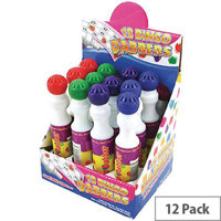 Tallon Large Bingo Dotter Pen Assorted Colours Pack of 12 1158