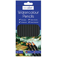 Work of Art Watercolour Pencils Pack of 12 TAL05146