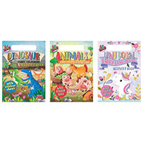 Artbox A4 Carry Colouring & Activity Pad Pack of 12 6891