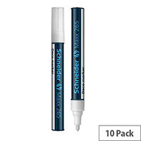 Schneider Deco Liquid Chalk Marker Bullet Tip 265 White 1-3mm Pack of 10
