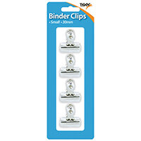 Tiger Small Letter Clips 30mm Pack of 48 302006